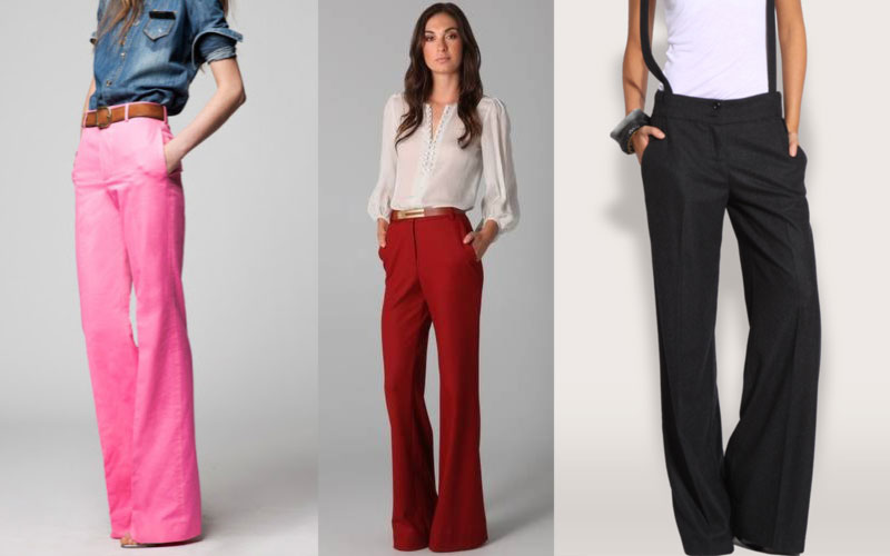 wide leg pants make endless legs