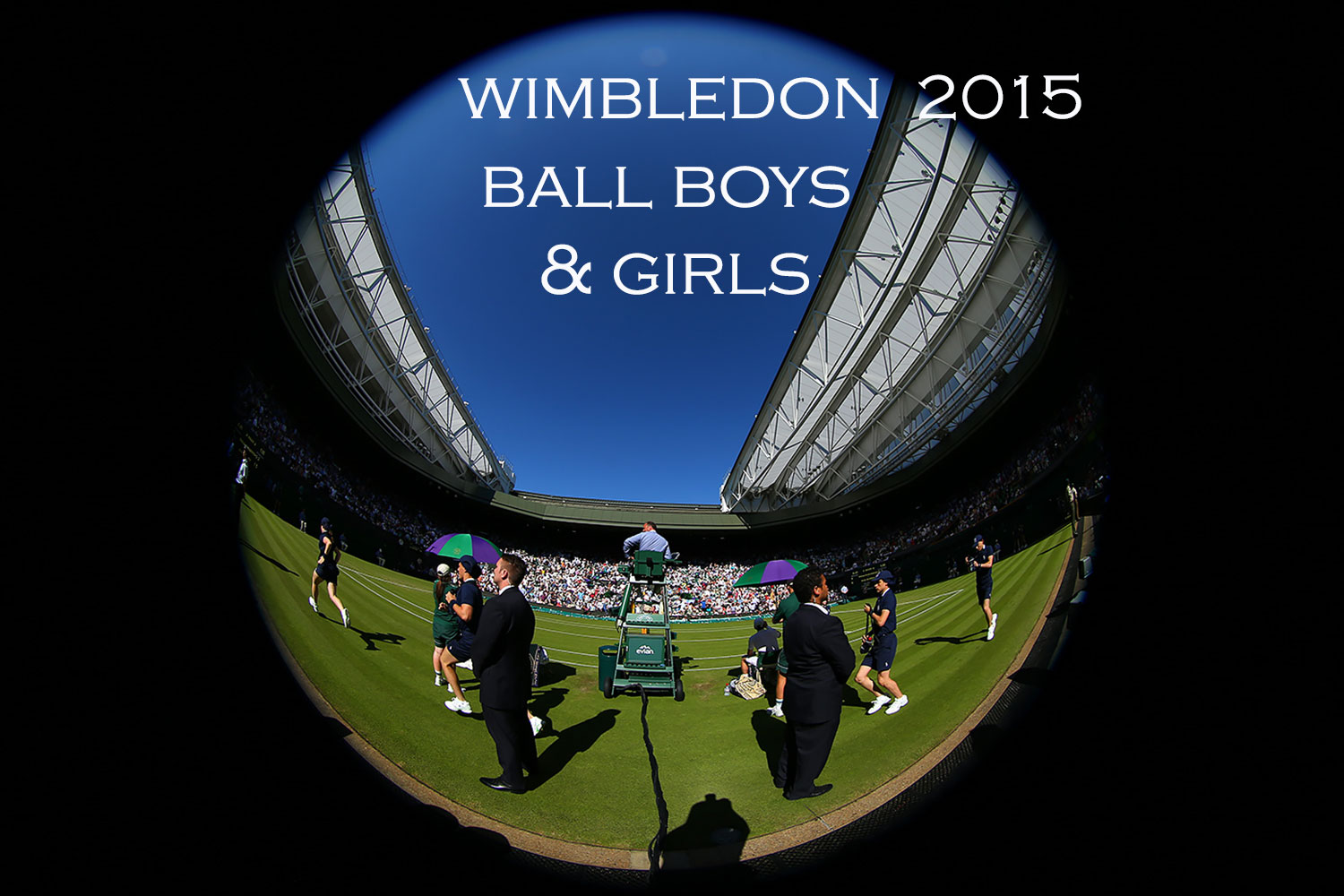 Wimbledon 2015 ball boys and girls