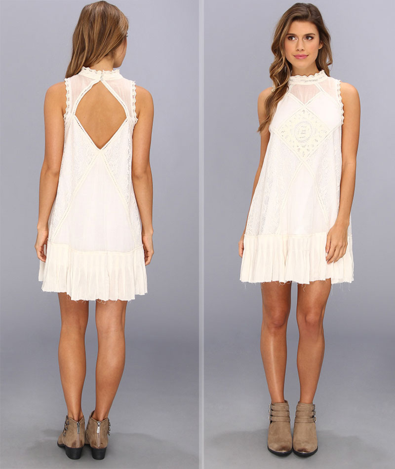 Wimbledon fashion inspiration Free People boho dress