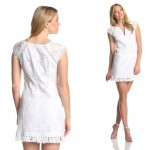 Wimbledon fashion inspiration lace white dress