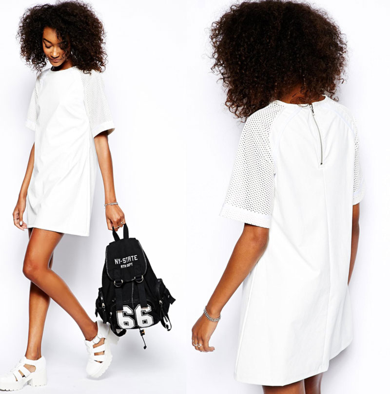 Wimbledon fashion inspiration white casual dress