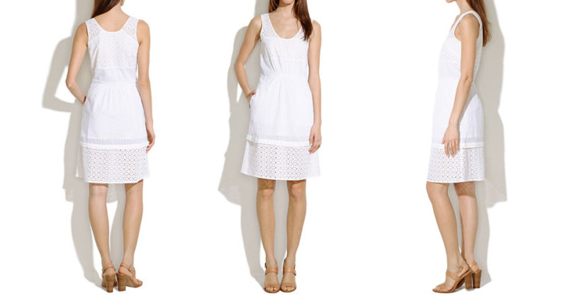Wimbledon fashion inspiration white midi dress