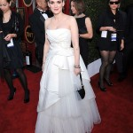 Winona Ryder white Alberta Ferretti dress 2011 SAG awards 2