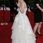 Winona Ryder white Alberta Ferretti dress 2011 SAG awards 3