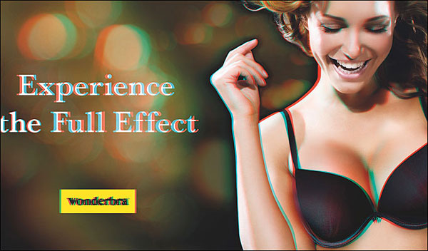 Wonderbra's New 3D Ad Billboard