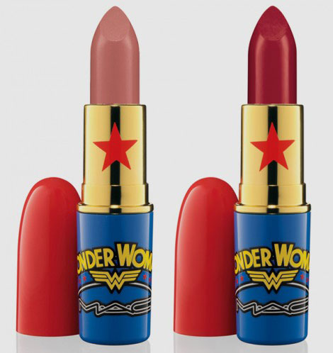 Wonderwoman M.A.C Makeup collection lipstick