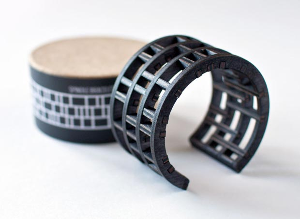 wood black cuff by EVRT Studio