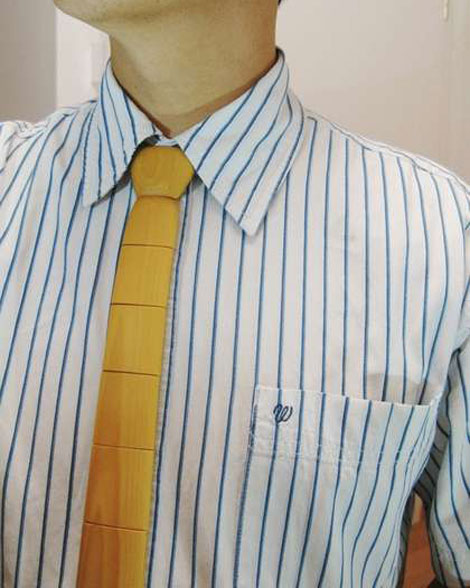 The Wooden Tie And Bowtie Really Wearable?