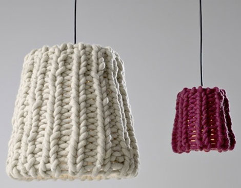 Granny Lamp, The New Knit Home Fashion