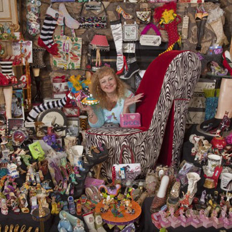 Fashion World Record: A Woman Owns 16,400 Pairs Of Shoes!