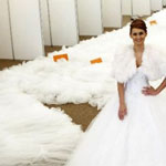 The World's Longest Wedding Gown Train