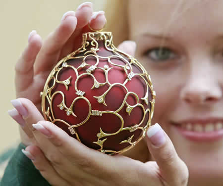 Here's The World's Most Expensive Christmas Bauble!