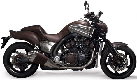 Yamaha  Hermes leather VMax