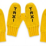 Yellow Taxi Mittens