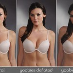 Yoobies inflatable bra