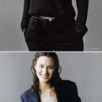 young Shalom Harlow photos
