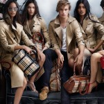 young cast Burberry Spring 2014 ad campaign