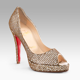 Louboutin's Yoze Kubrik Platform Pumps – Christmas Present of the Day