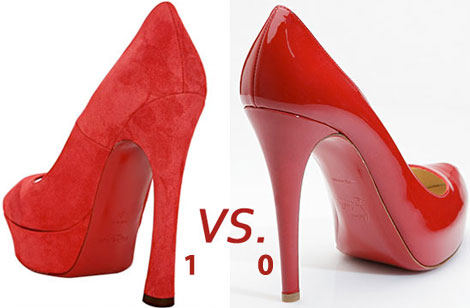 YSL Red Soles Louboutin Red Soles Lawsuit