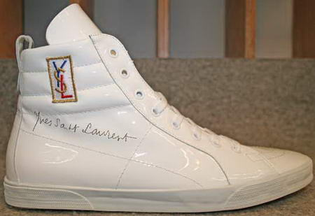 Yves Saint Laurent Rolling Sneakers