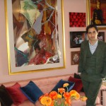 Zac Posen designed interior duplex NYC large