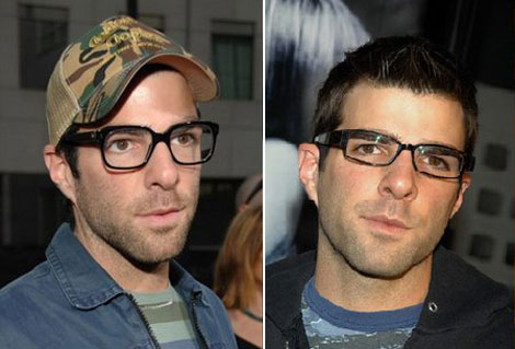 Famous Stylish Men Love Thick Nerdy Black Rimmed Eyeglasses! You Should Too!