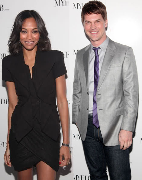 Zoe Saldana and boyfriend MyFDB