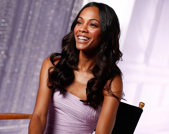 Zoe Saldana Avon Eternal Magic Perfume ad campaign large