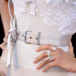 Zoe Saldana rings 2013 Oscars