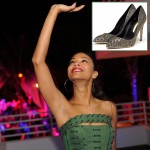 Zoe Saldana s shoes