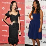 Zoe Saldana various events with and without baby bump